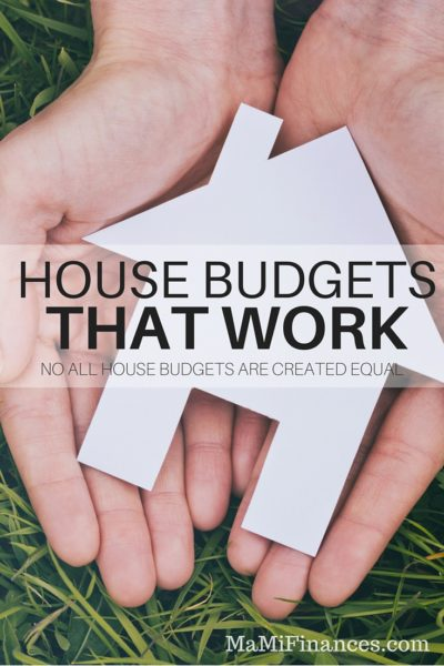 House Budgets That Work