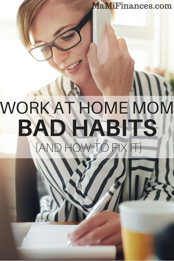 Working from home is not as easy as many think. Many work at home bad habits may develop if you are not careful and prepare yourself.