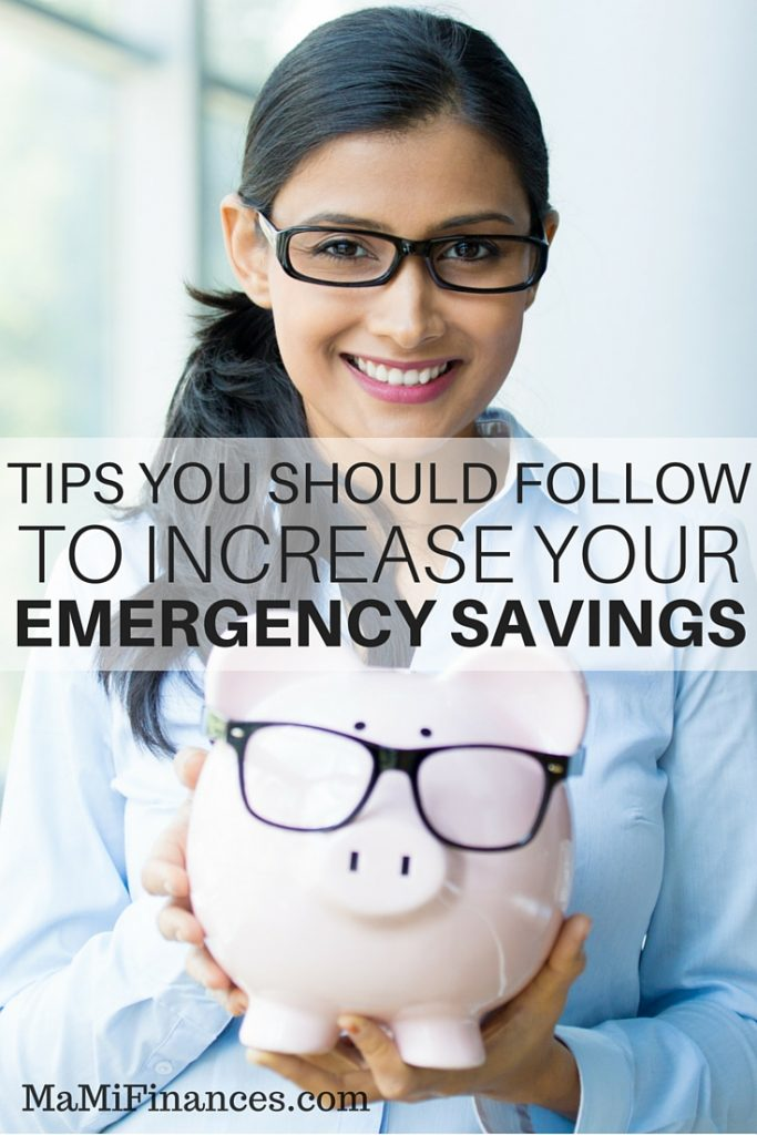 People save money to stay prepared for the worse. For these reasons here are some tips you should follow to increase your emergency saving.