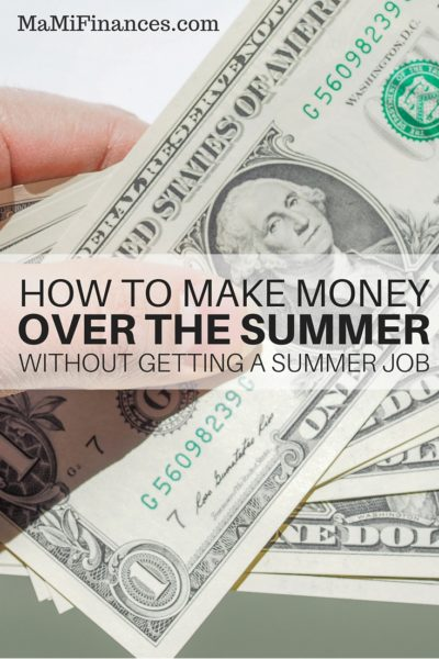 How to Make Money over the Summer